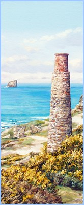 cornish art prints and picture framing in cornwall